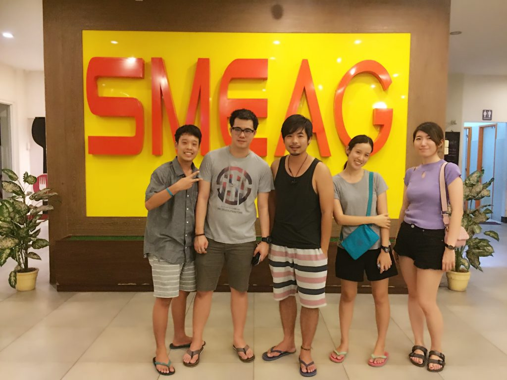SMEAG school, my foreigner friends